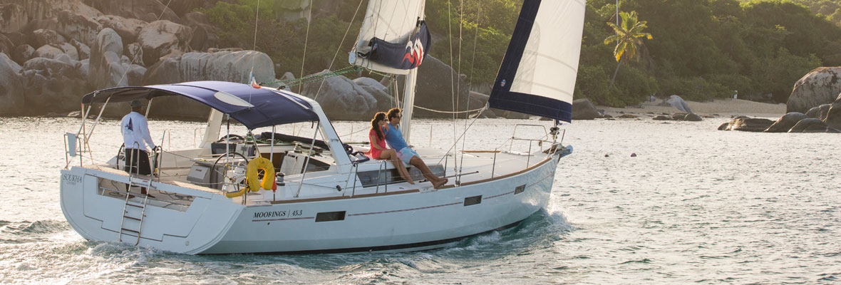 Moorings charter in BVI