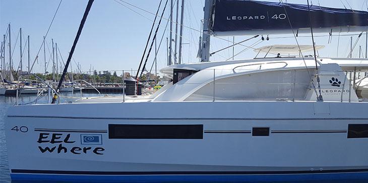 Leopard 40 Catamaran