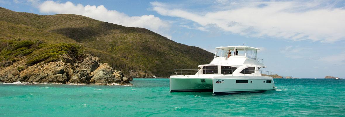 Power catamaran charter