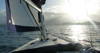 Moorings owners sailing the BVI